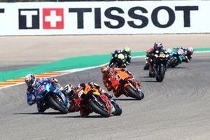 Miguel Oliveira, Red Bull KTM Factory Racing, Alex Rins, Team Suzuki MotoGP