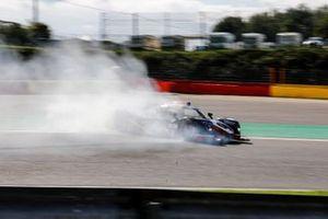 #3 United Autosports Ligier JS P320 - Nissan LMP3, James McGuire, Duncan Tappy, Andrew Bentley quitte la piste