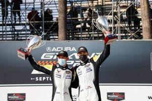 #4: Corvette Racing Corvette C8.R, GTLM: Tommy Milner, Nick Tandy, winners, podium