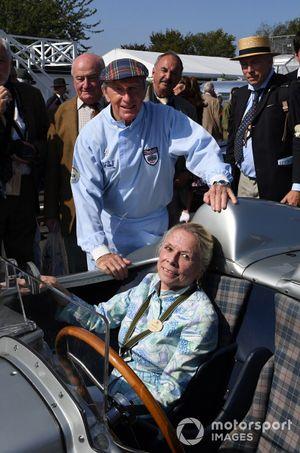 Sir Stirling Moss Tribute Susie Moss Sir Jackie Stewart