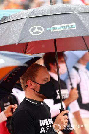 Valtteri Bottas, Mercedes, sur la grille