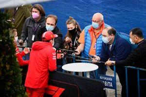 Шарль Леклер, Ferrari, интервью
