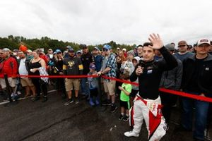 Fans enjoy walking the pre-race grid and viewing the #1: Paul Miller Racing Lamborghini Huracan GT3, GTD: Madison Snow, Bryan Sellers pit stop demonstration