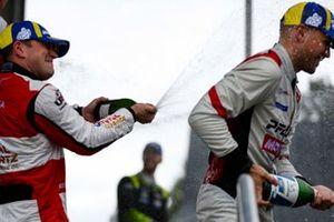 #1: Paul Miller Racing Lamborghini Huracan GT3, GTD: Madison Snow, Bryan Sellers, Champagne
