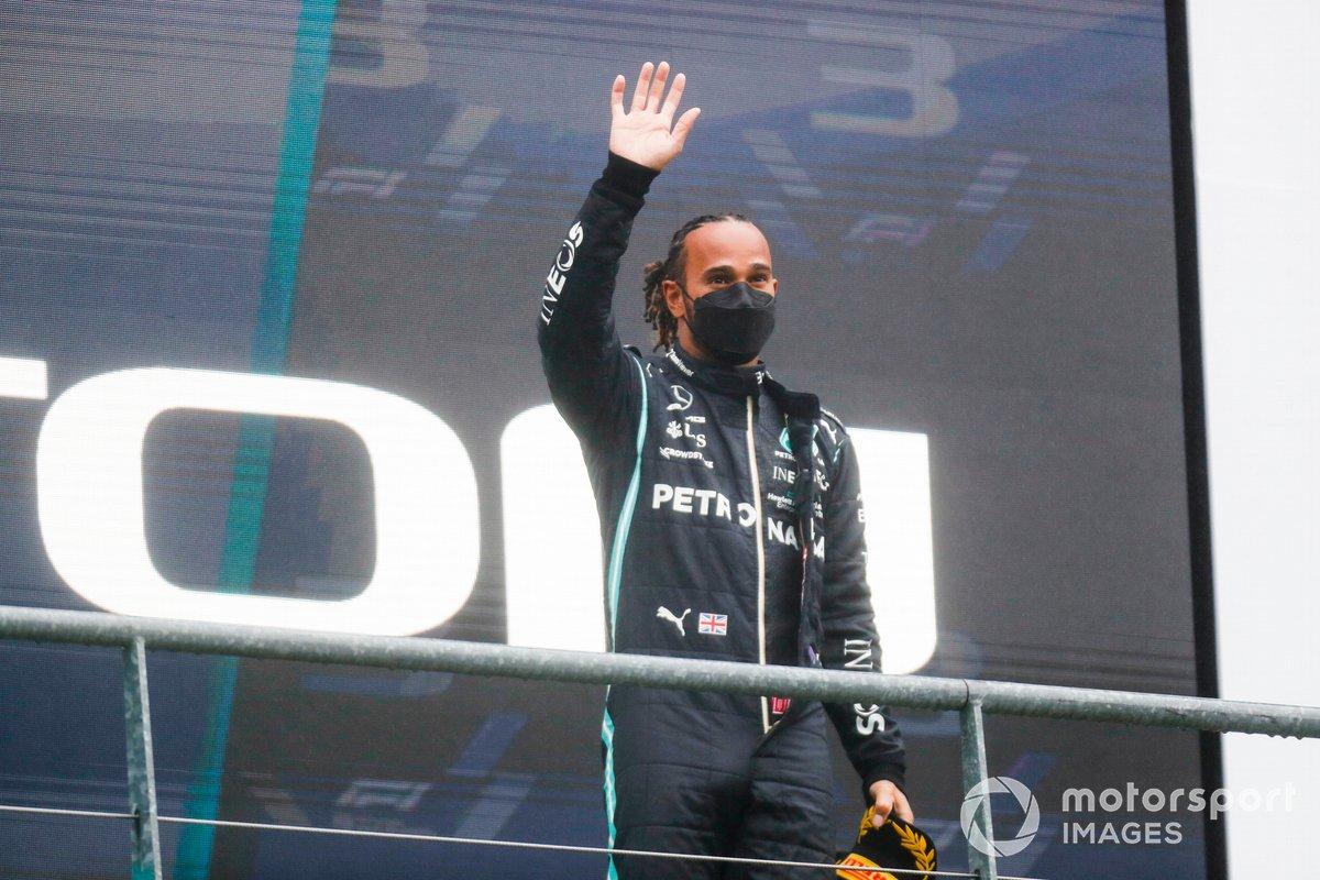 Sir Lewis Hamilton, Mercedes, 3a posizione