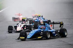 Victor Martins, MP Motorsport, Alexander Smolyar, ART Grand Prix, and Johnathan Hoggard, Jenzer Motorsport