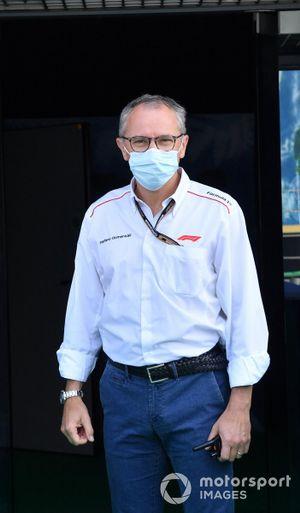 Stefano Domenicali, CEO, Formula 1