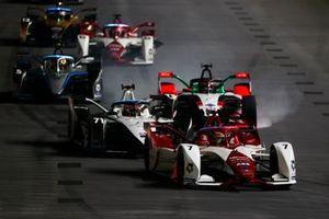 Sergio Sette Camara, Dragon Penske Autosport, Penske EV-5, Norman Nato, Venturi Racing, Silver Arrow 02, Rene Rast, Audi Sport ABT Schaeffler, Audi e-tron FE07, Stoffel Vandoorne, Mercedes-Benz EQ, EQ Silver Arrow 02