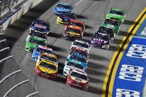 Ryan Blaney, Team Penske, Ford Mustang BodyArmor, Joey Logano, Team Penske, Ford Mustang Shell Pennzoil