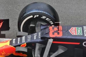 Red Bull Racing RB16B front detail