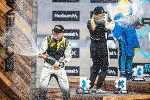 Kevin Hansen, JBXE Extreme-E Team celebrates