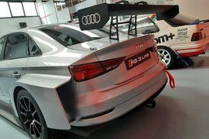 Audi RS3 LMS a metano che parteciperà al Campionato TCR 2022