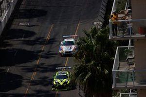 #12: Vasser Sullivan Lexus RC F GT3, GTD: Frankie Montecalvo, Zach Veach, #96: Turner Motorsport BMW M6 GT3, GTD: Robby Foley, Bill Auberlen