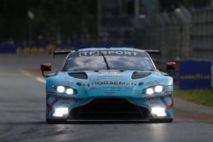 #33 TF Sport Aston Martin Vantage AMR LMGTE Am of Ben Keating, Dylan Pereira, Felipe Fraga