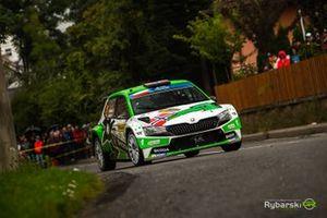 Andreas Mikkelsen, Jonas Andersson, Skoda Fabia Rally2 evo