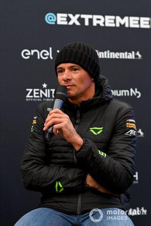 Stephane Sarrazin, Veloce Racing, in conferenza stampa