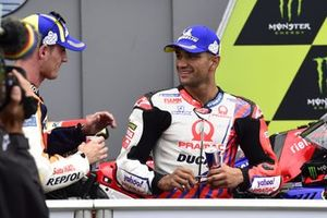 Polesitter Pol Espargaro, Repsol Honda Team, mit Jorge Martin, Pramac Racing