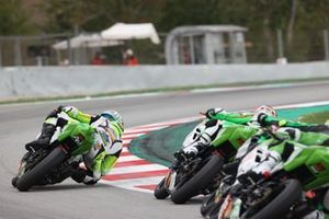 Adrian Huertas, MTM Kawasaki et Jeffrey Buis, MTM Kawasaki