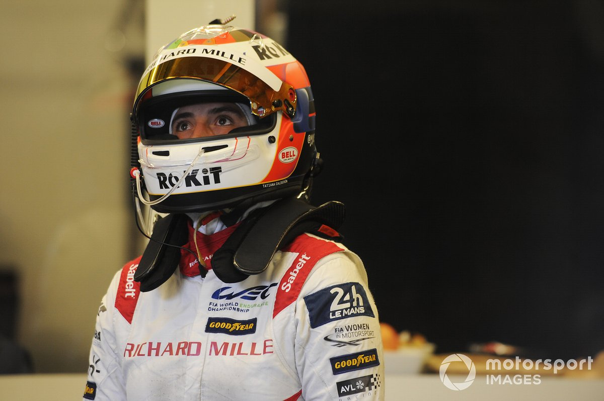 Tatiana Calderon, #1 Richard Mille Racing Team Oreca 07 - Gibson LMP2
