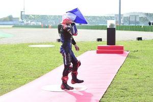 World Champion Fabio Quartararo, Yamaha Factory Racing celebrates