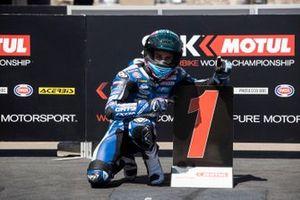Jules Cluzel, GMT94 Yamaha takes pole position