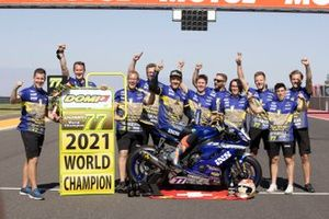 Dominique Aegerter, Ten Kate Racing Yamaha, Campeón del Mundo 2021