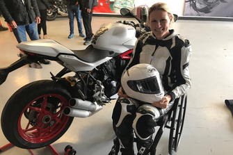 Claire Lomas, Ducati SuperSport S