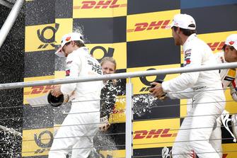 Podium: Lucas Auer, Mercedes-AMG Team HWA, Daniel Juncadella, Mercedes-AMG Team HWA