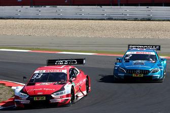 René Rast, Audi Sport Team Rosberg, Audi RS 5 DTM, Gary Paffett, Mercedes-AMG Team HWA, Mercedes-AMG C63 DTM