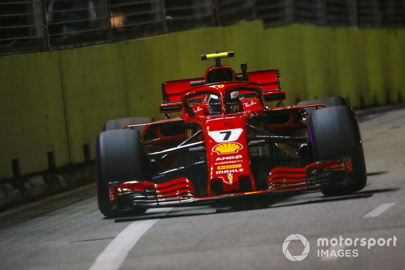 5. Kimi Raikkonen, Ferrari SF71H