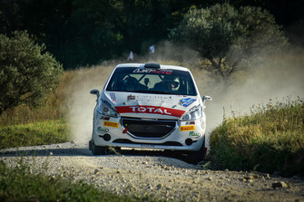 Alessandro Nerobutto, Francesca Nerobutto, Peugeot 208 R2B, Hawk Racing Club