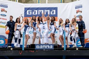 De dames en heren van Gamma Racing Day