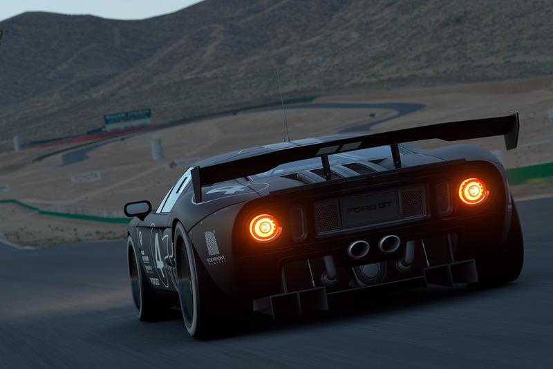 Ford GT LM Spec II Test Car