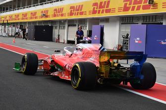 Robert Kubica, Williams FW41, con vernice aerodinamica