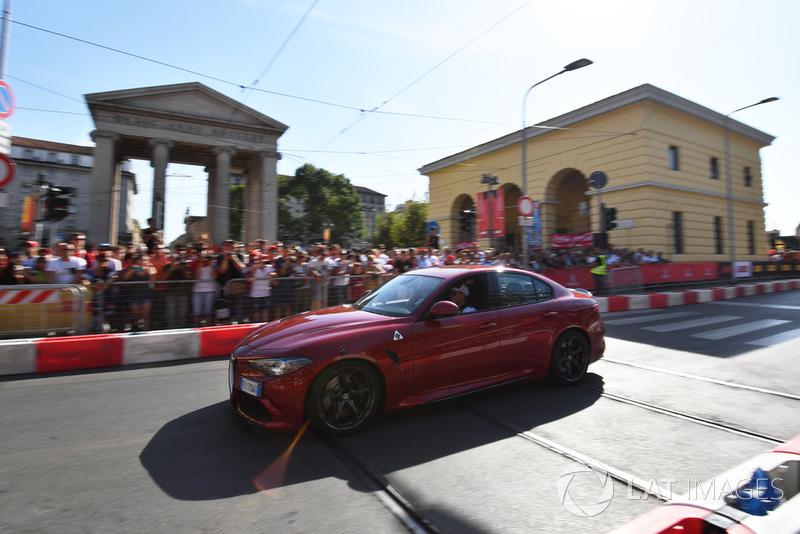 Marcus Ericsson, Alfa Romeo Sauber F1 Team Alfa Romeo Quadrifoglio