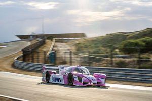 Forze VIII van Forze Hydrogen Racing Team Delft in actie op Circuit Zandvoort