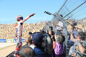 Переможець гонки Марк Макрес, Repsol Honda Team