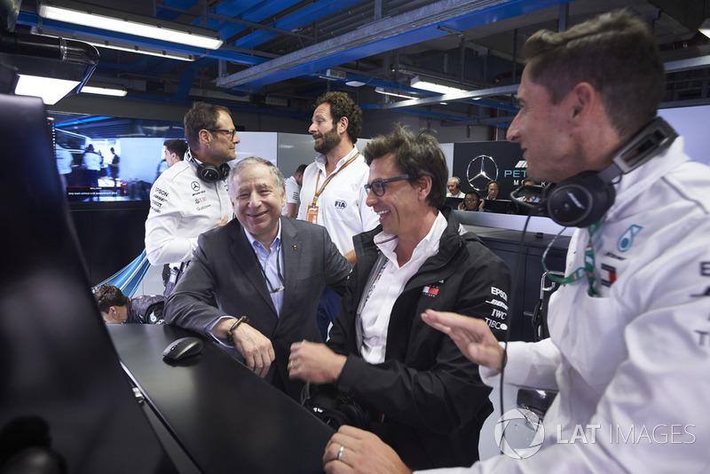 Rozmowa: Jean Todt, Prezes, FIA, oraz Toto Wolff, Dyrektor Wykonawczy (Biznes), Mercedes AMG