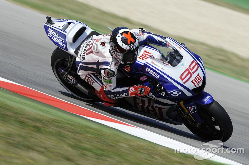2011 : Jorge Lorenzo (Yamaha Factory Racing)