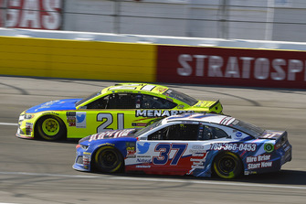Paul Menard, Wood Brothers Racing, Ford Fusion Menards / Aquafina e Chris Buescher, JTG Daugherty Racing, Chevrolet Camaro Natural Light Race Day Resume