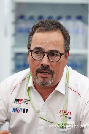 Rob Leupen, Director Business Operations, Toyota Gazoo Racing