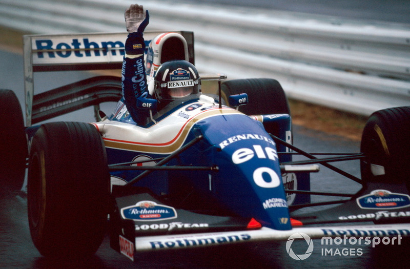 15: Damon Hill, 45