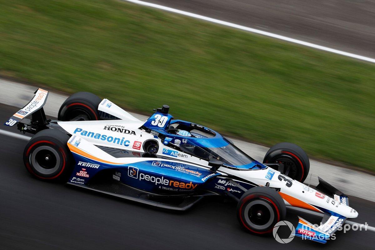 3º Takuma Sato, Rahal Letterman Lanigan Racing - Honda