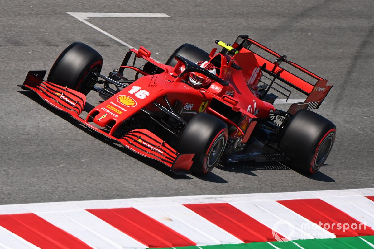 Charles Leclerc, Ferrari: 8 puan