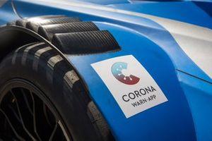 Car detail of Philipp Eng, BMW Team RBM, BMW M4 DTM