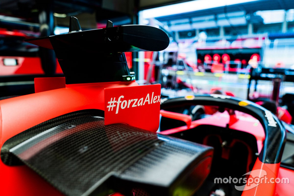 Forza Alex en el Ferrari SF1000
