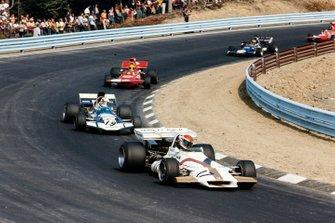 Helmut Marko, British Racing Motors P160, Sam Posey, Surtees TS9 Ford, Nanni Galli, March 711 Ford