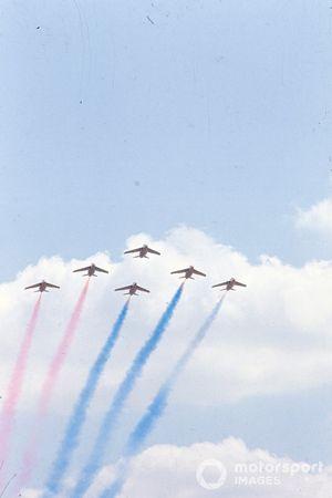 Spettacolo delle Freccie Rosse in volo, GP di Gran Bretagna del 1971