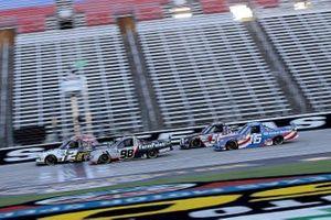 Sheldon Creed, GMS Racing, Chevrolet Silverado, Grant Enfinger, ThorSport Racing, Ford F-150
