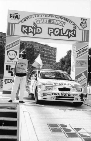 Robert Droogmans, Ronny Joosten, Ford Sierra RS Cosworth
